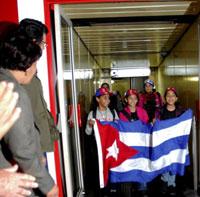 EN LA PATRIA DELEGACIÓN CUBANA A CITA MUNDIAL JUVENIL