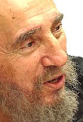 Envía Fidel Castro mensaje a cooperantes cubanos en Haití