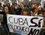 RECHAZAN BLOQUEO ESTADOUNIDENSE AMIGOS DE CUBA