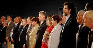 MINISTROS DE 11 PAÍSES EN INAUGURACIÓN DE PEDAGOGÍA 2011