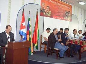 Demanda congreso solidario fin del bloqueo de EEUU a Cuba