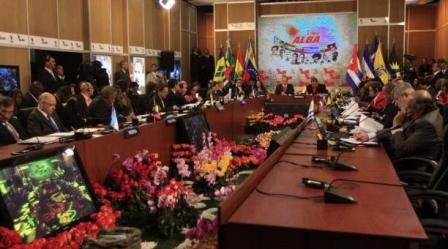 XI Cumbre del ALBA acuerda examinar bloqueo a Cuba