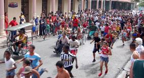 Multitudinaria participación de cubanos en Carrera Terry Fox