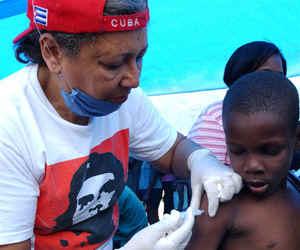 Reconocen actuación de Cuba para detener el cólera en Haití