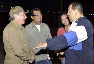 Despidió Raúl Castro a Hugo Chávez
