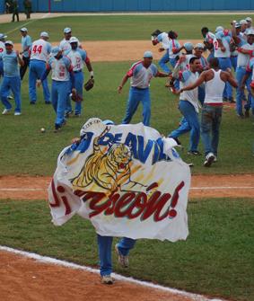 Ciego de Ávila campeón del béisbol cubano