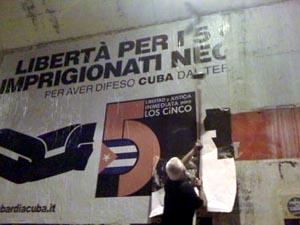 Roma se despierta en solidaridad con los Cinco Cubanos