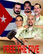 Cinco héroes cubanos, protagonistas de una magistral lección.