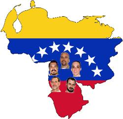 Crean en Venezuela Comité pro libertad de los cinco héroes cubanos presos en EEUU