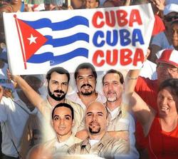 Glorias del deporte cubano exigen liberación de Los Cinco