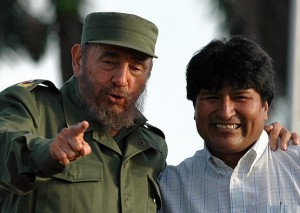 Agradece Evo a Fidel apoyo a demanda marítima boliviana