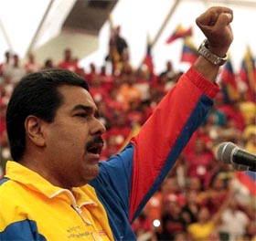 Conjura internacional para desestabilizar a Venezuela