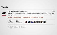 Hacker causa pánico al publicar falso mensaje sobre Obama en twitter de la AP