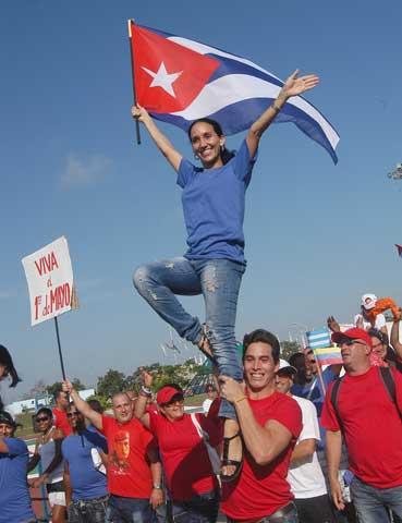 Ratifican avileños apoyo irrestricto a la Revolución cubana