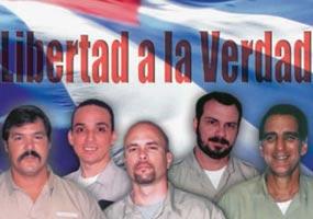 EE.UU. silencia causa de los cinco antiterroristas cubanos