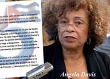 Reclama Angela Davis la liberación de antiterroristas cubanos
